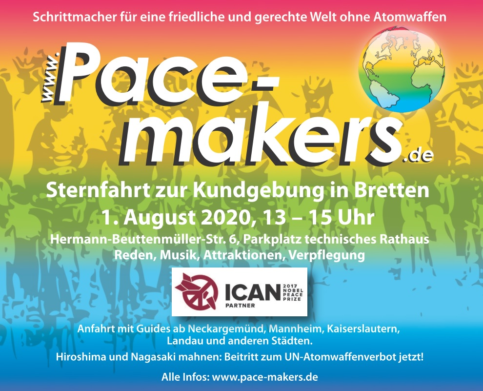 Pacemakers-Lgo mit Text