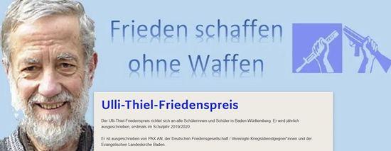 Logo Ulli-Thiel-Friedenspreis